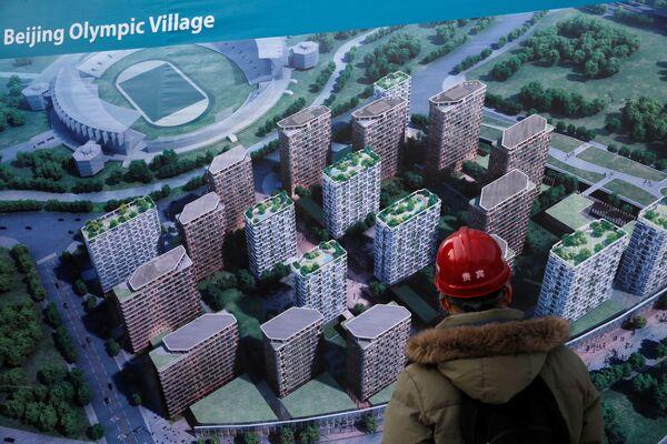 Budowa obiektów olimpijskich w Pekinie - Sputnik Polska