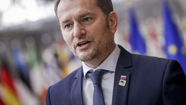 Premier Słowacji Igor Matovič. - Sputnik Polska