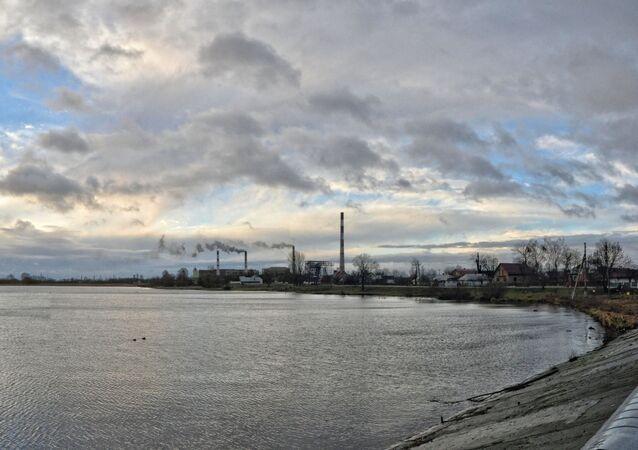 Elektrownia cieplna w Dobrotworze w obwodzie lwowskim.