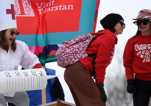 Festiwal kreatywnych sanek SUNNYFEST w Tatarstanie
