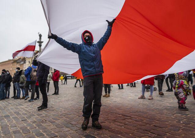 Obchody Międzynarodowego Dnia Solidarności z Białorusią, Warszawa
