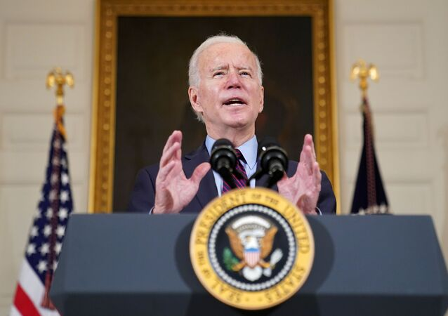 Prezydent USA Joe Biden
