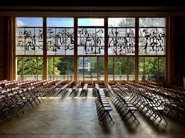 Zdjęcie Mairie Annexe du 14e autorstwa francuskiego fotografa Fanfwaha, zwycięzcy konkursu Wiki Loves Monuments 2020 wśród uczestników z Francji - Sputnik Polska