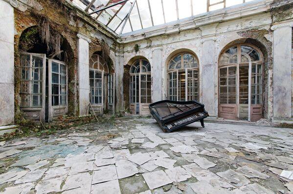 Zdjęcie Pałacu Bartoszewice autorstwa fotografa Mariana Naworskiego, zwycięzcy konkursu Wiki Loves Monuments 2020 wśród uczestników z Polski - Sputnik Polska
