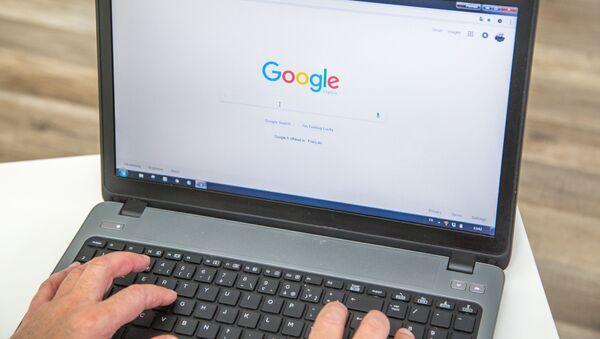 Google Chrome na laptopie - Sputnik Polska