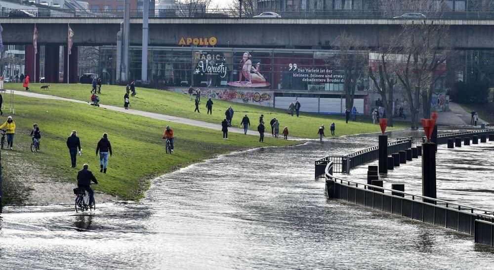 Powodzie w Düsseldorfie