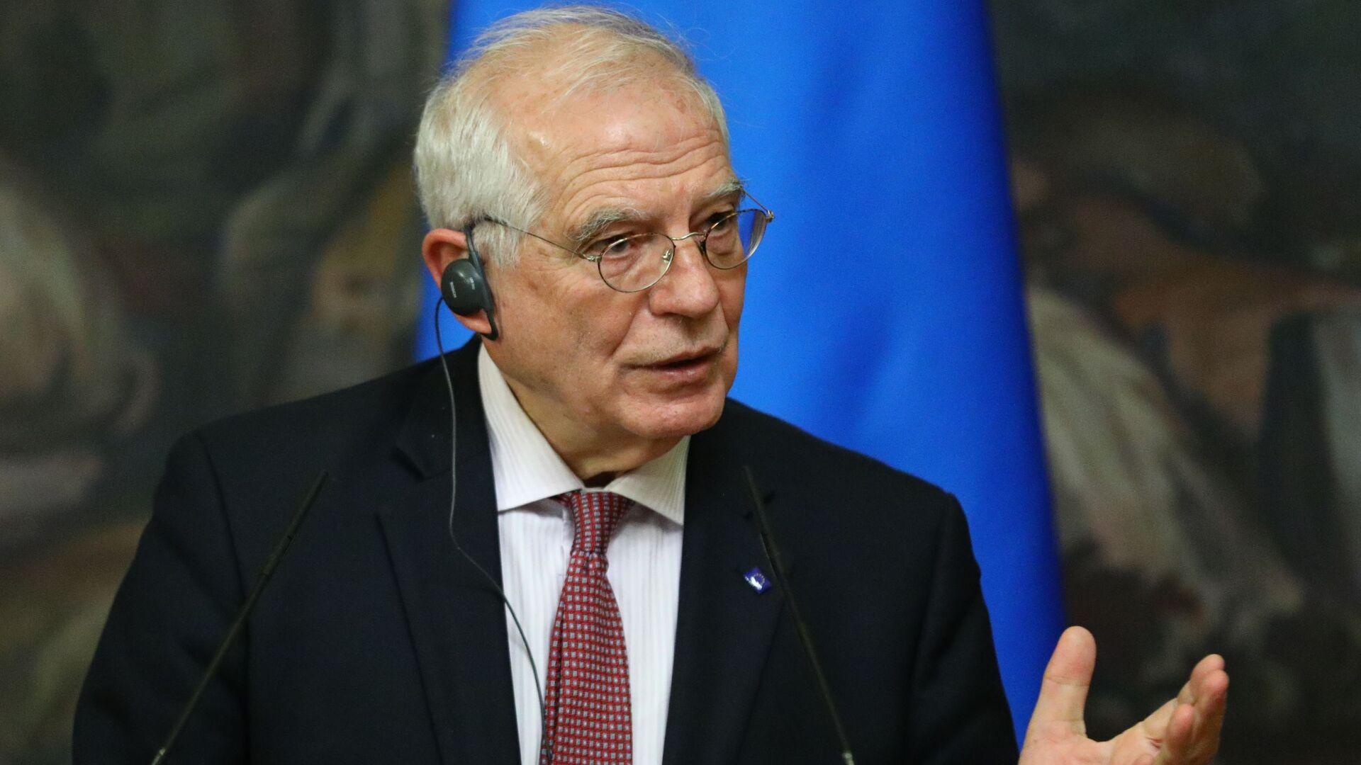 Wysoki Przedstawiciel UE ds. Zagranicznych i Polityki Bezpieczeństwa Josep Borrell - Sputnik Polska, 1920, 29.07.2021
