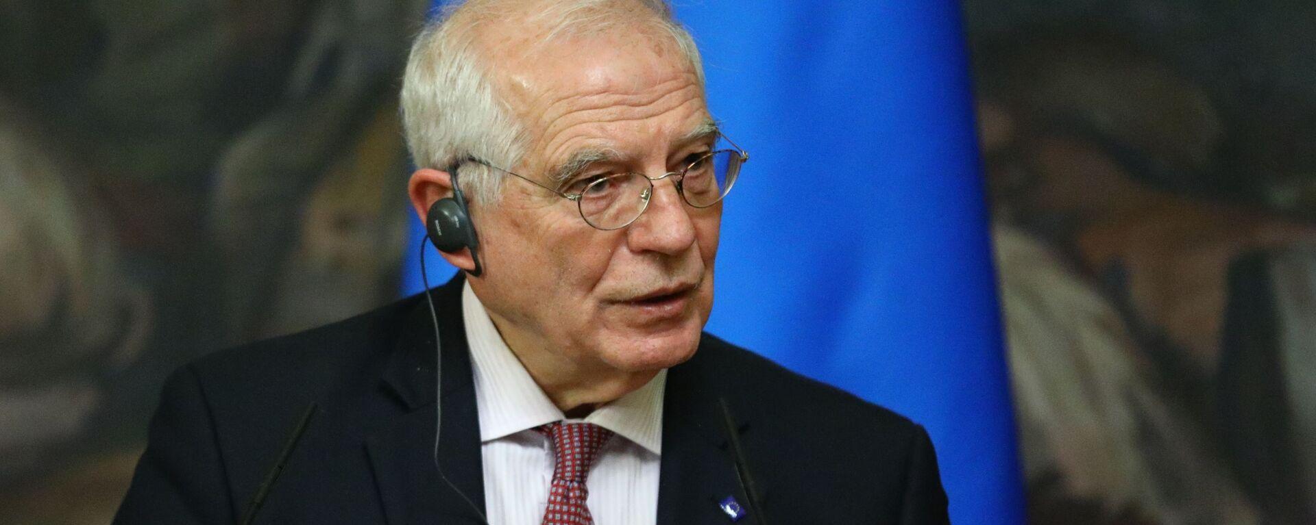 Wysoki Przedstawiciel UE ds. Zagranicznych i Polityki Bezpieczeństwa Josep Borrell - Sputnik Polska, 1920, 29.06.2021
