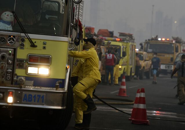 Straż pożarna w Paragwaju