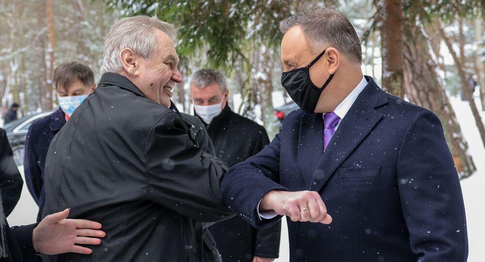 Miloš Zeman i Andrzej Duda
