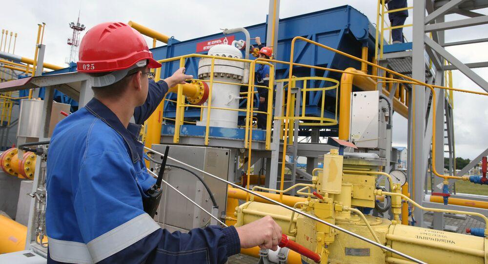 Magazyn gazu w obwodzie kaliningradzkim