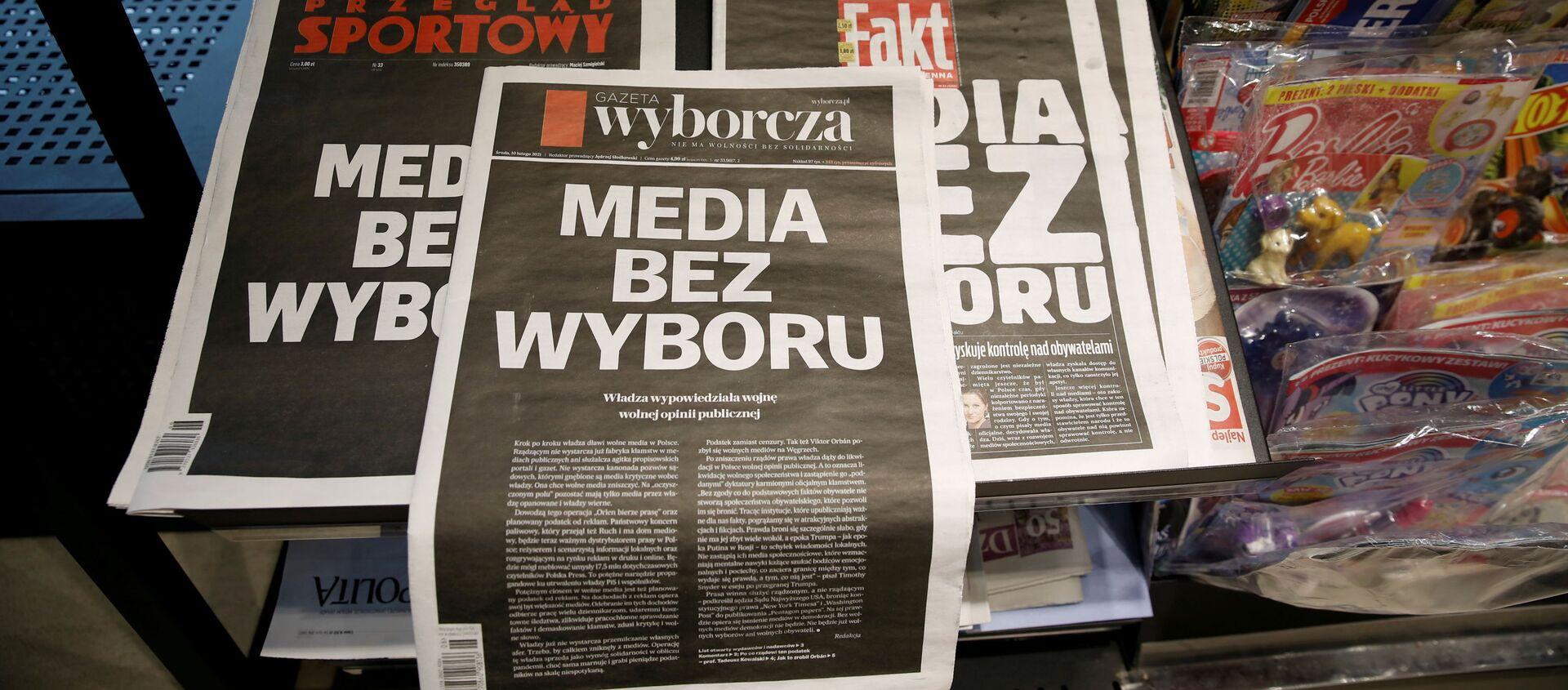 Media bez wyboru - Sputnik Polska, 1920, 10.02.2021
