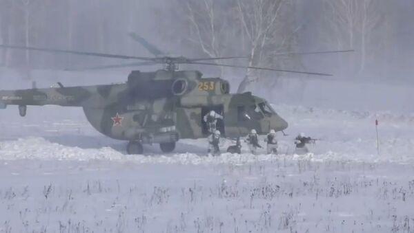 Rosyjska armia z bliska: zwiadowcy, artylerzyści i jednostki walki radioelektronicznej - Sputnik Polska