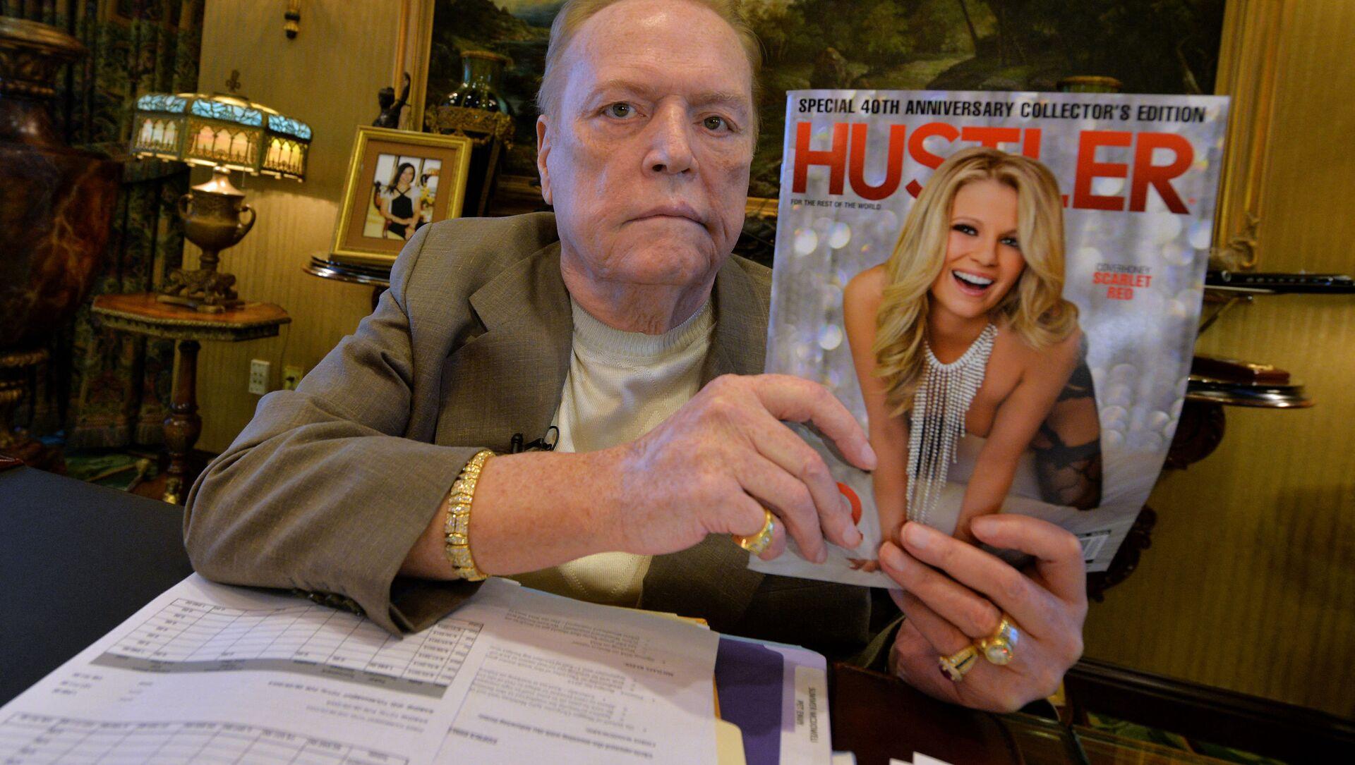Właściciel amerykańskiego magazynu dla dorosłych Hustler Larry Flynt - Sputnik Polska, 1920, 11.02.2021