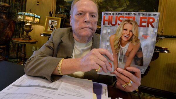 Właściciel amerykańskiego magazynu dla dorosłych Hustler Larry Flynt - Sputnik Polska