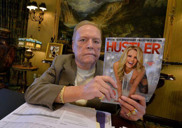 Właściciel amerykańskiego magazynu dla dorosłych Hustler Larry Flynt
