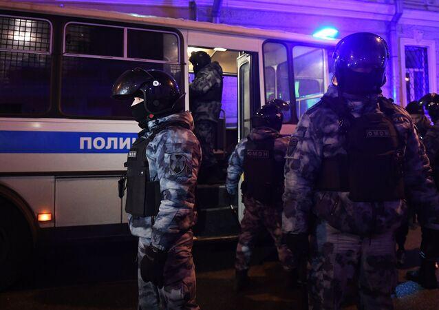 Protesty zwolenników Aleksieja Nawalnego w Moskwie