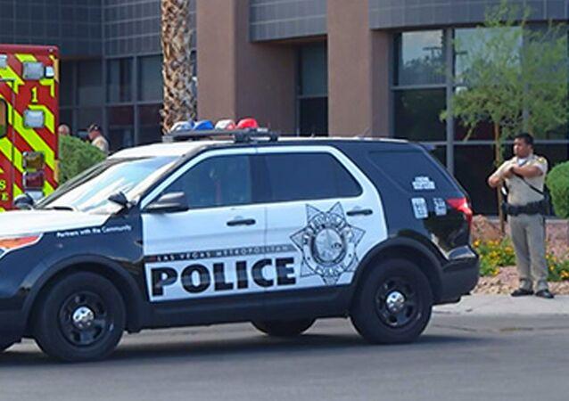 Samochód policji w USA.