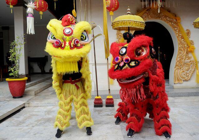 Obchody Chińskiego Nowego Roku na Bali