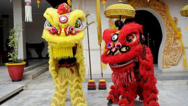 Obchody Chińskiego Nowego Roku na Bali - Sputnik Polska