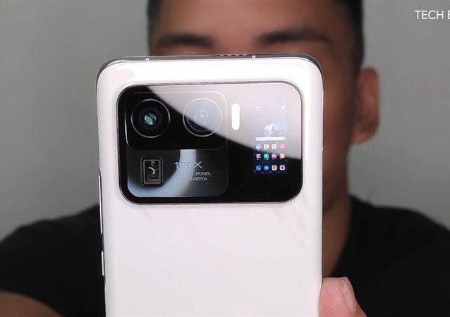 Nie zaprezentowany jeszcze topowy modelu smartfona Xiaomi Mi 11 Ultra