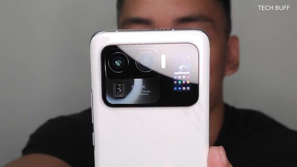 Niezaprezentowany jeszcze topowy modelu smartfona Xiaomi Mi 11 Ultra - Sputnik Polska