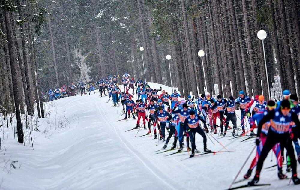 Uczestnicy Karelia Ski Fest