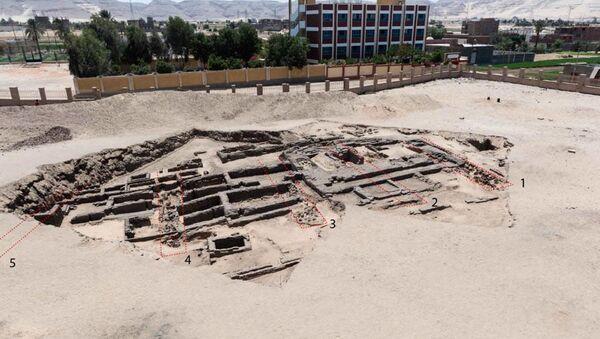 Egipsko-amerykański zespół archeologów odkrył prawdopodobnie najstarszy browar na świecie w egipskiej prowincji Sohag. - Sputnik Polska