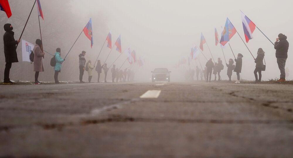 Rosyjska pomoc humanitarna w Donbasie