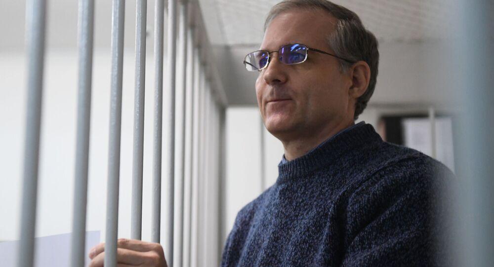 Obywatel USA Paul Whelan w sądzie w Moskwie