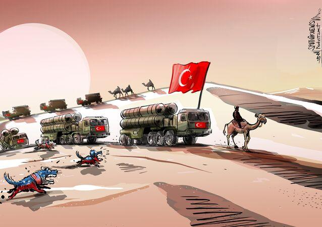 S-400 dla Turcji. Psy szczekają, karawana idzie dalej