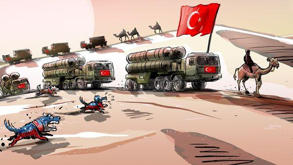 S-400 dla Turcji. Psy szczekają, karawana idzie dalej - Sputnik Polska