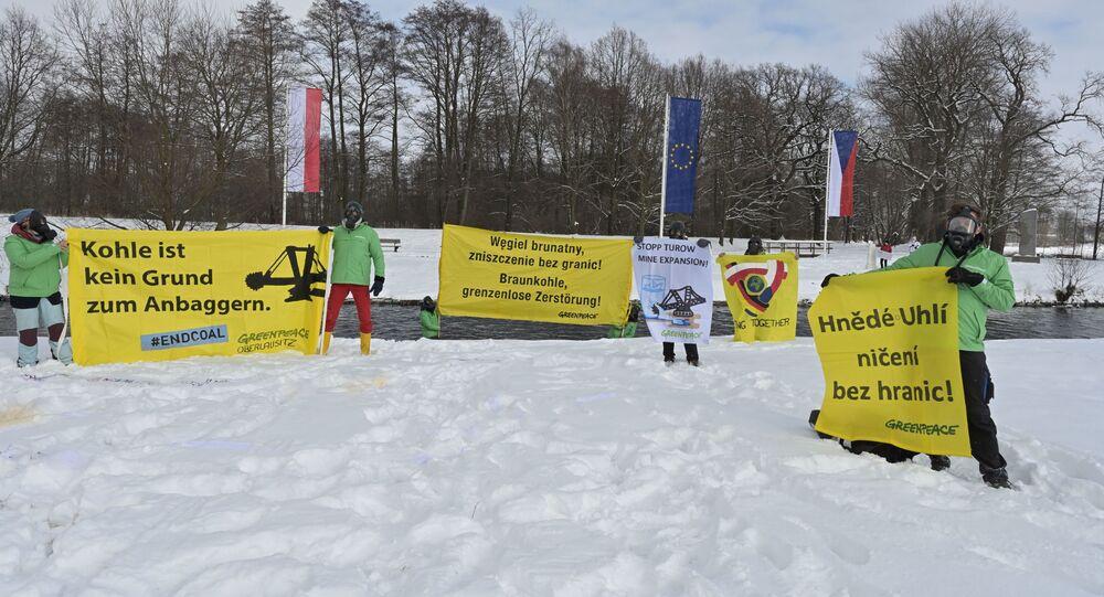 Międzynarodowy protest przeciwko rozbudowie kopalni Turów i działalności elektrowni na Trójstyku granic Polski, Czech i Niemiec