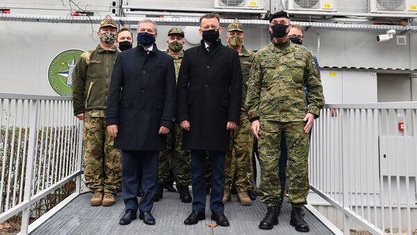 Spotkanie bilateralne Mariusza Błaszczaka Ministra Obrony Narodowej z Panem Tiborem Benkő Ministrem Obrony Węgier - Sputnik Polska
