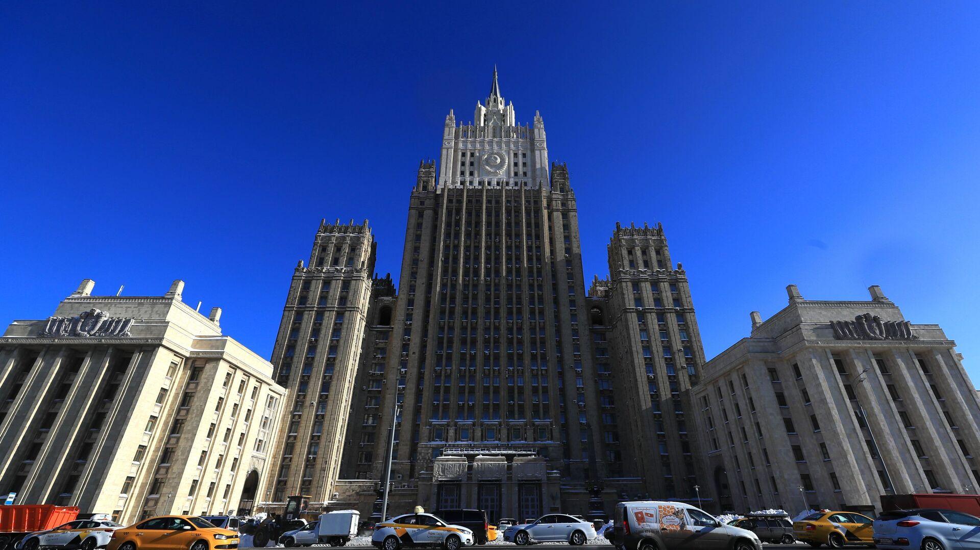 Budynek Ministerstwa Spraw Zagranicznych Federacji Rosyjskiej w Moskwie - Sputnik Polska, 1920, 28.06.2021