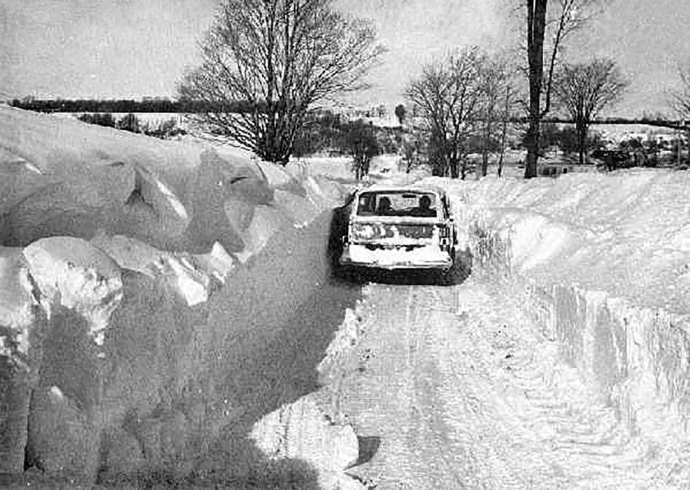 Następstwa zamieci w Nowym Jorku (Buffalo), 1977 rok