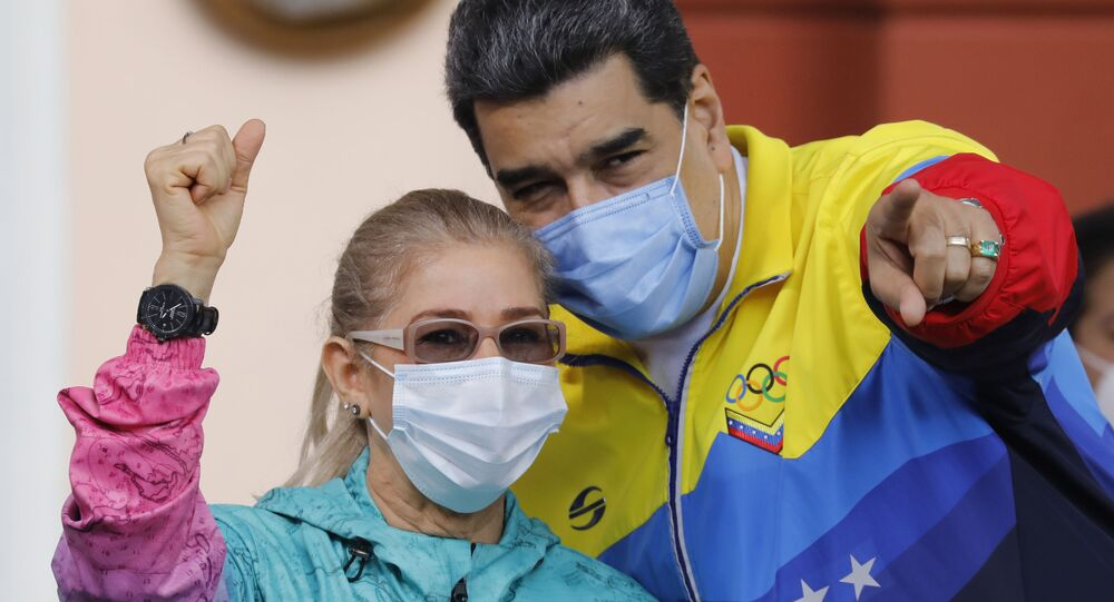 Nicolas Maduro i Cilia Flores
