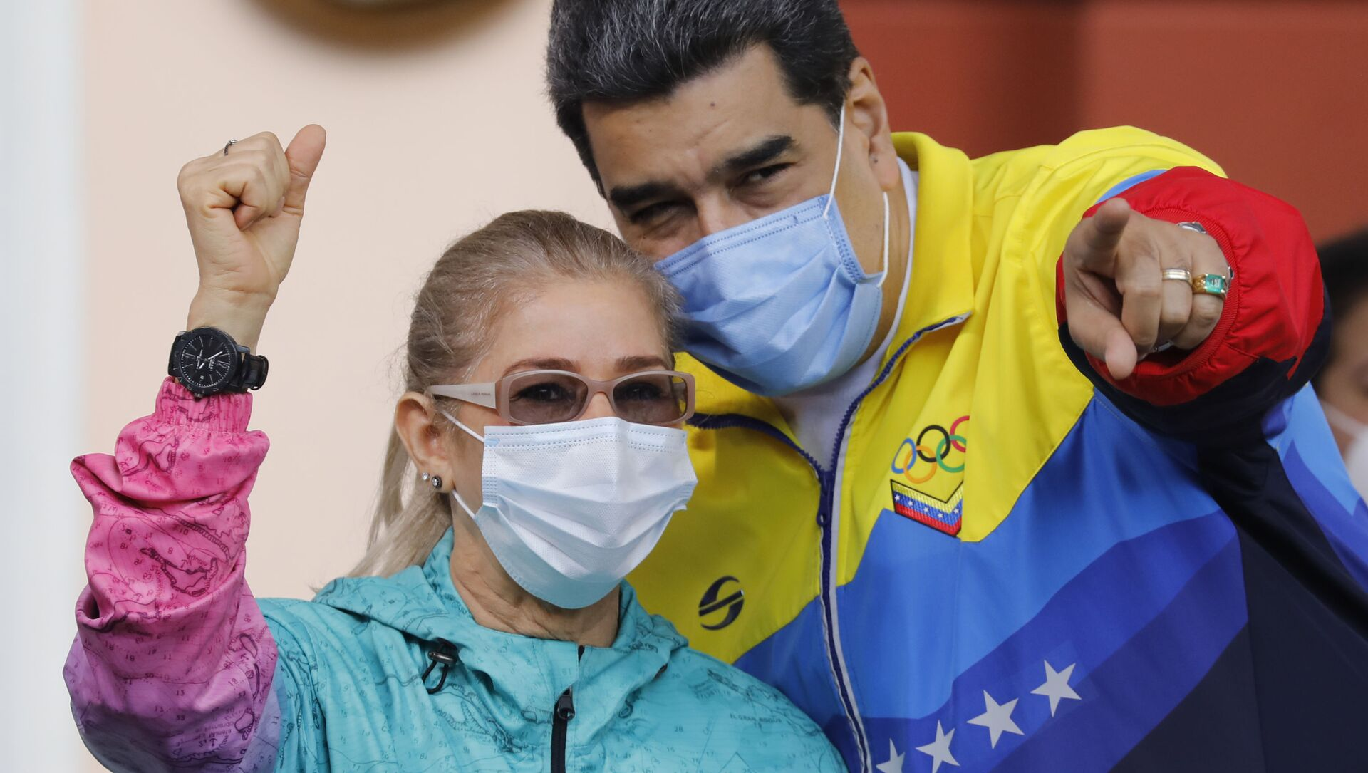 Nicolas Maduro i Cilia Flores - Sputnik Polska, 1920, 17.02.2021