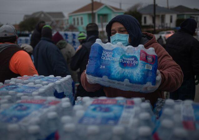 Brak wody pitnej w Teksasie