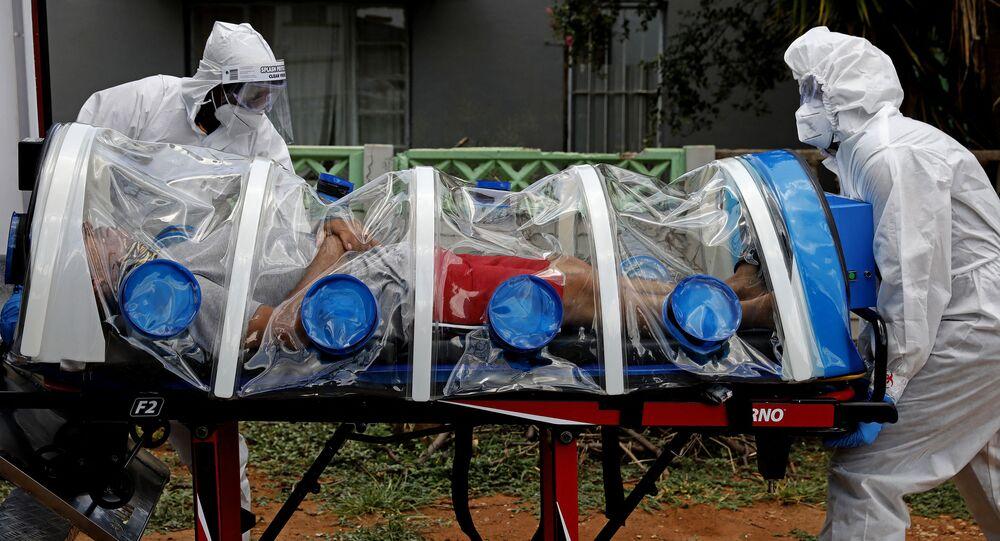 Południowoafrykański szczep koronawirusa