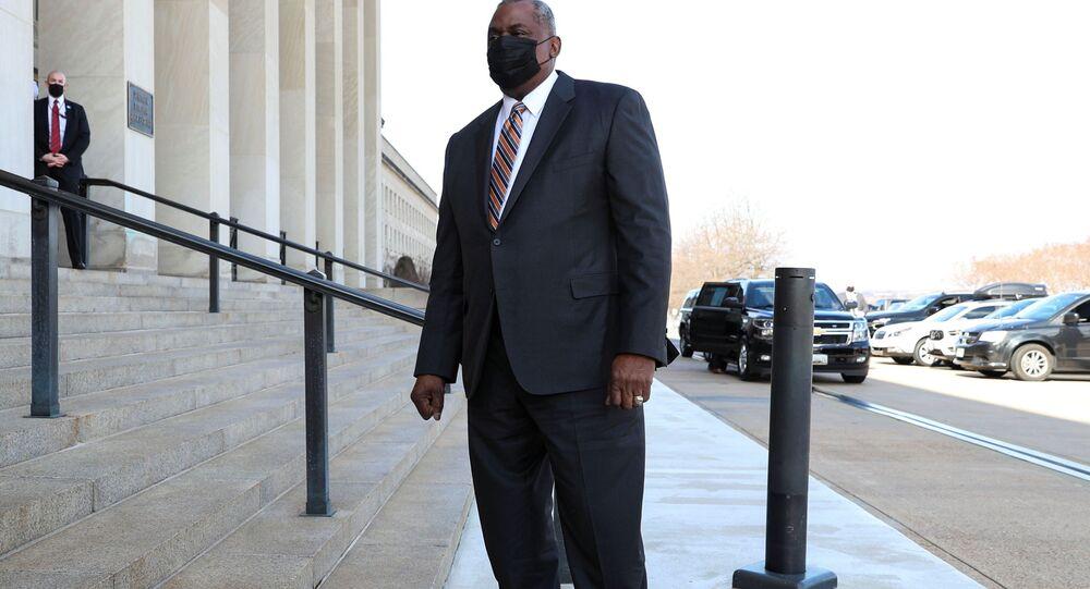 Sekretarz obrony USA Lloyd Austin.