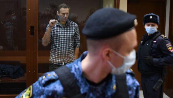 Areszt Nawalnego - Sputnik Polska