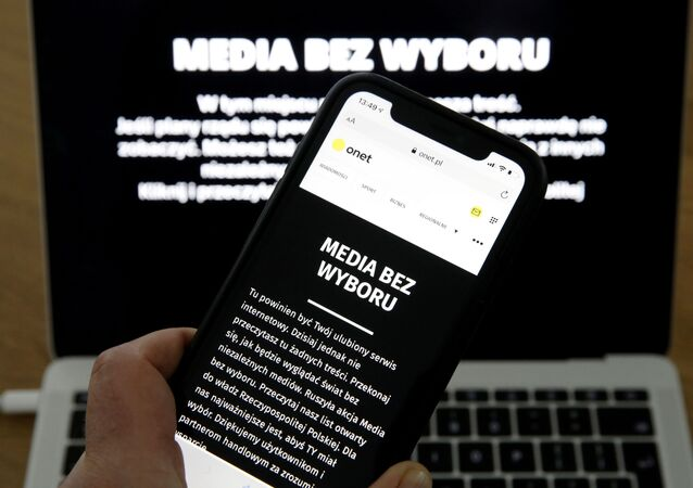 Protest polskich mediów - Media bez wyboru