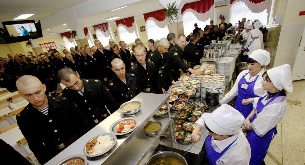 Wyżywienia w rosyjskiej armii, Flota Oceanu Spokojnego