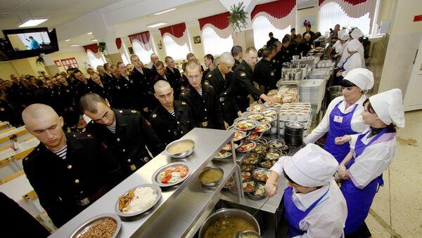 Wyżywienia w rosyjskiej armii, Flota Oceanu Spokojnego - Sputnik Polska