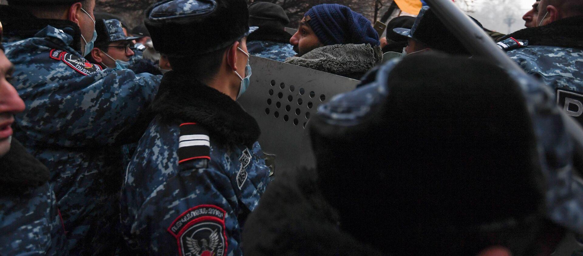 Protesty w Erywaniu. - Sputnik Polska, 1920, 24.02.2021