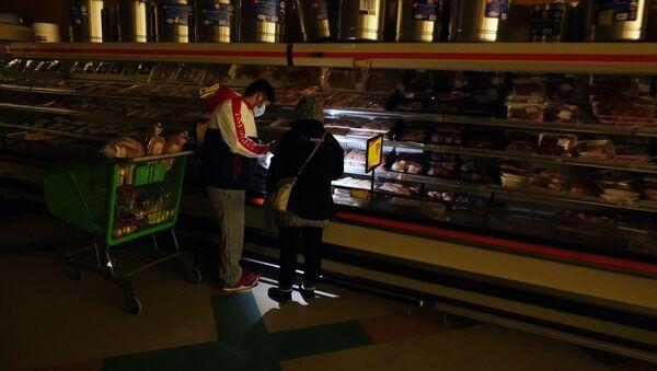 Kupujący w supermarkecie w Dallas, Teksas - Sputnik Polska