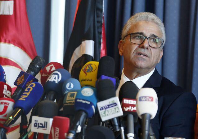 Szef MSW Rządu Jedności Narodowej Fathi Bashagha