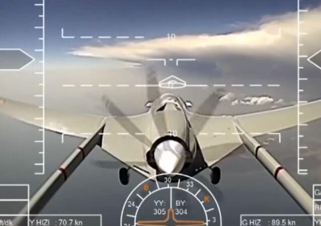 """Atak dronem """"Orion"""" na terrorystów w Syrii"""