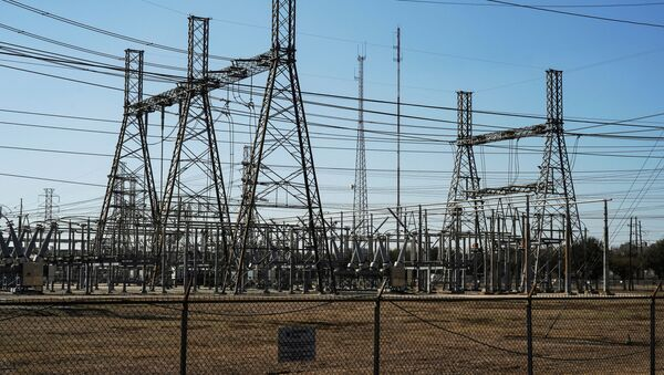 Linie energetyczne w Teksasie - Sputnik Polska